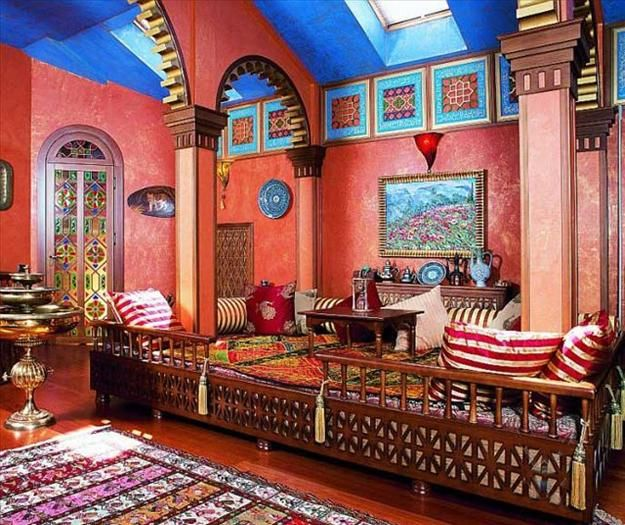 Moroccan Interior Decor And Wall Decorating Tips